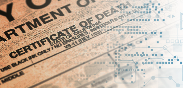 Taking death records digital: The Iowa experience