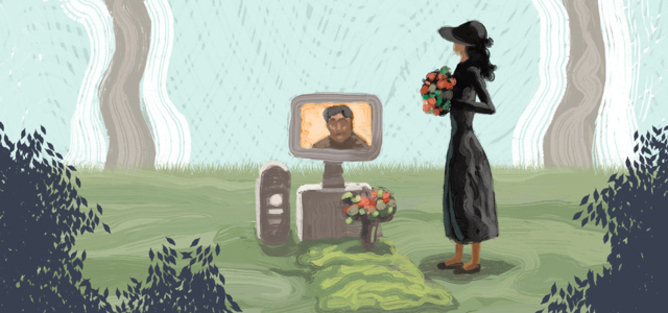 Digital death is still a problem. A widow's battle to access her husband's Apple account