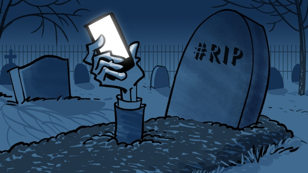 Texts from the dead: Post-mortem digital communication has arrived