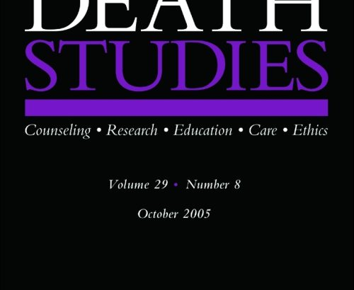 Death Studies Special Issue Call for Papers