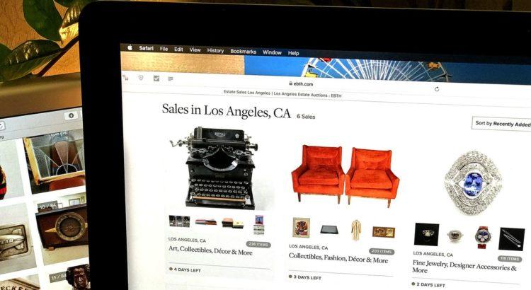 Digital estate sales widen the treasure hunt